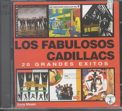 20 GRANDES EXITOS BY LOS FABULOSOS CADILL (CD)
