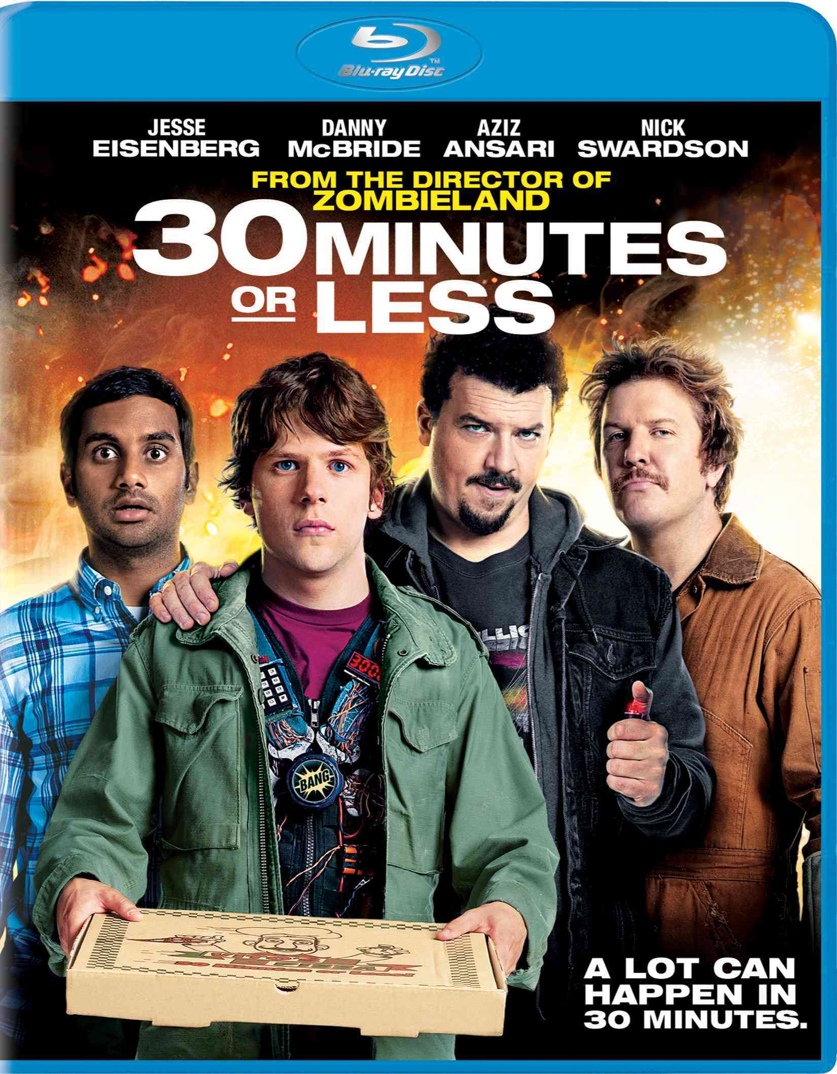 30 MINUTES OR LESS BY EISENBERG,JESSE (Blu-Ray)